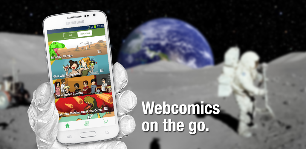 Comic Chameleon - The ultimate webcomics app for iOS and Android